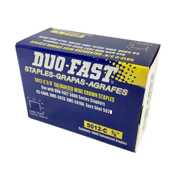 duo-fast staples