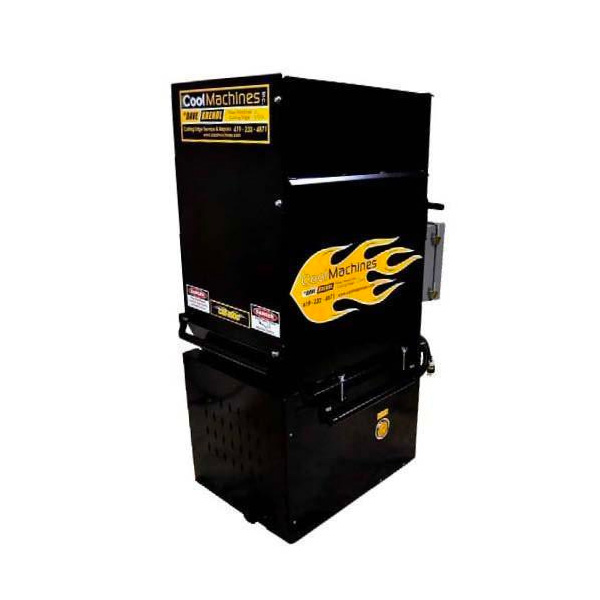 cool 1500 machine w 13 amp d i double blower j r products inc
