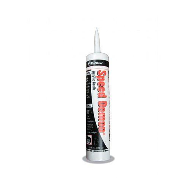 Red Devil Speed Demon Caulk Acrylic White