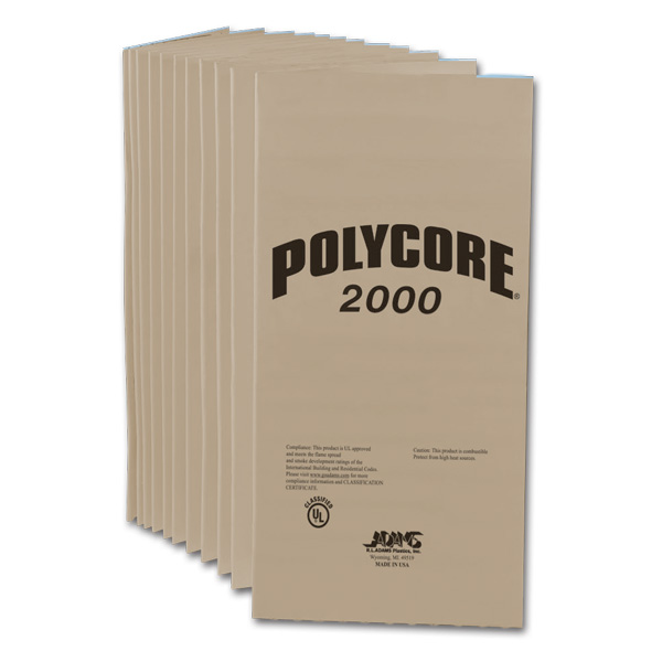 Polycore 2000 Extruded Polystyrene Foam Insulation Board J Amp R Products Inc